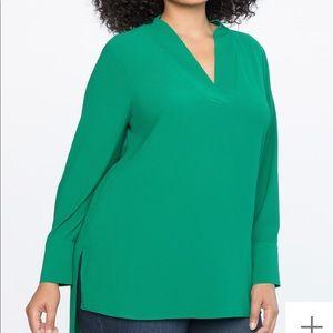 ELOQUII • easy v-neck tunic